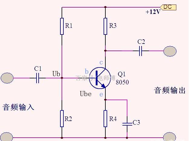 三极管放大电路中的偏置电路工作原理