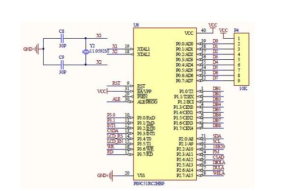 STC89C52RC单片机或AT89S52单片机串口发送温湿度数据的程序免费下载