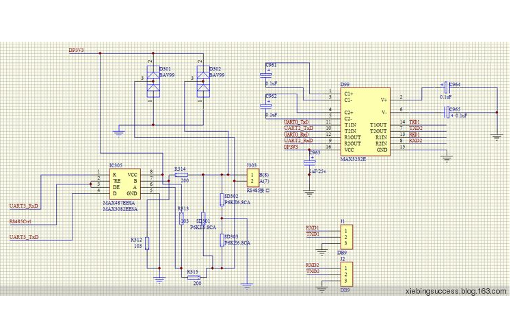 使用STC89C51和TLC1543模数转换器设计环境指标采集器的资料和程序