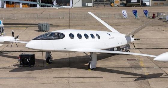 航空领域一种仅靠电池供电的新型电动飞机将在未来1...