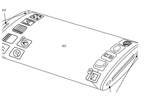 苹果正在积极探索iPhone手机将搭配环绕式柔性屏的可能性