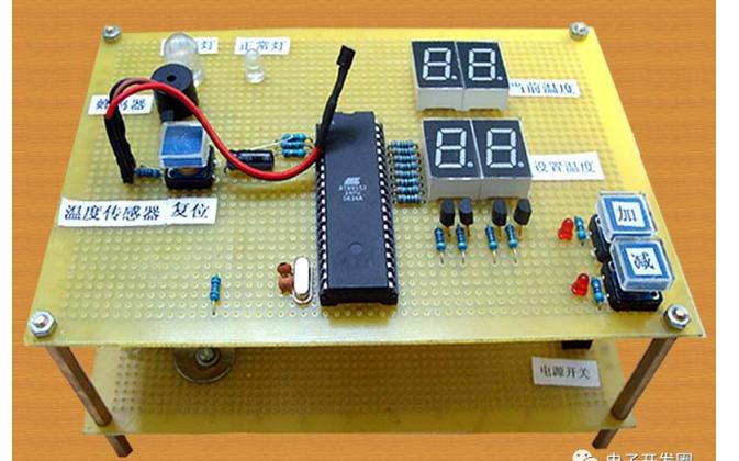 使用单片机进行温控报警系统设计的电路图和程序免费下载