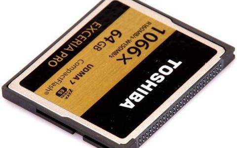 關于攝影行業必備的高速CF存儲卡推薦