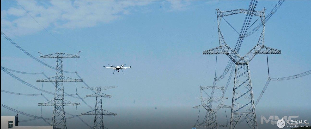 电塔上舞动的精灵,无人机电力行业的应用
