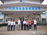 8人去访广东京写电路板有限公司进行产学研调研和交流