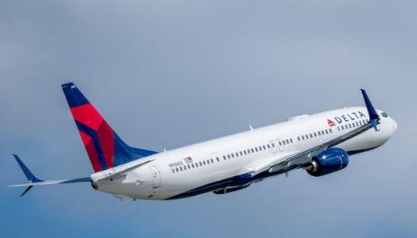 达美航空正式接收了波音最新一架737-900(E...