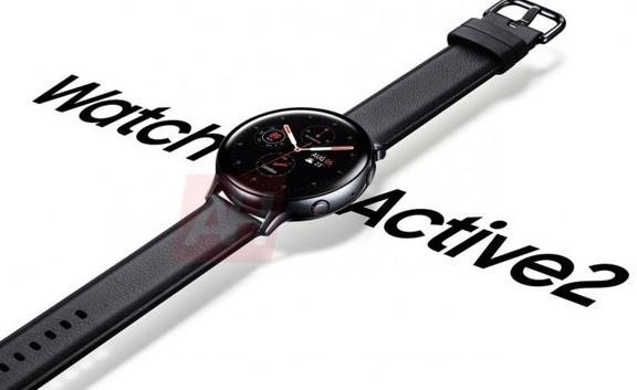 三星Watch Active 2智能手表曝光将配备ECG功能和跌倒检测功能
