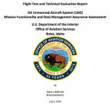 美国内政部发布了一份对大疆无人机系统的评估报告
