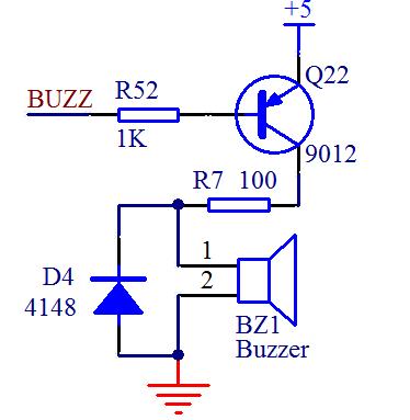 单片机对蜂鸣器的驱动电路设计