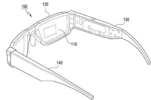 三星混合现实眼镜Monitorless获批了专利申请
