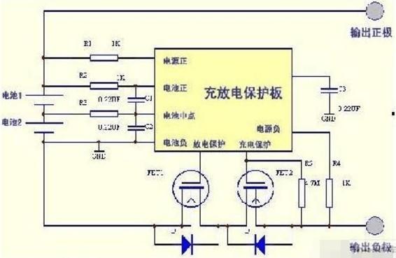 锂电池充电电路的结构组成及设计