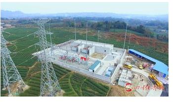 国网四川省电力公司历经了70年的发展使电网建设更安全更绿色