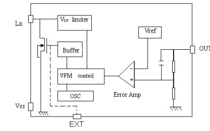 SD2350D系列VFM开关型DCDC升压转换器的芯片免费下载