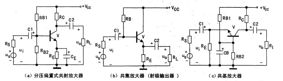 三极管单级放大电路识图技巧