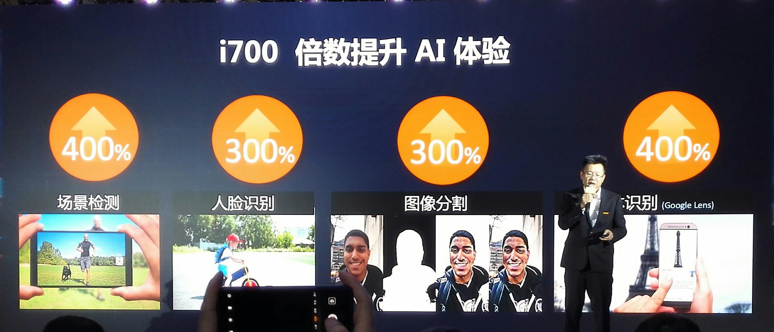 i700在AI、无线和绘图方面升级了性能