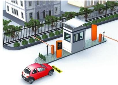 RFID停车场管理树立全新的物业管理形象