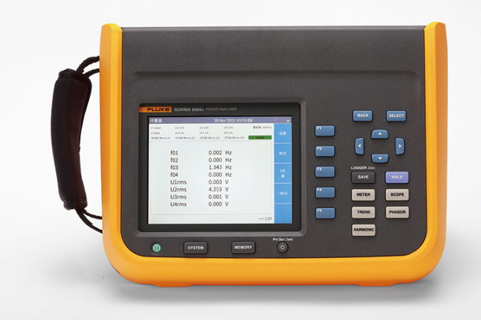 Fluke Norma6000系列功率分析仪正式发布 轻装上阵,为便捷而生!