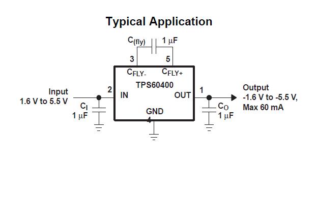 TPS6040X电荷泵电压逆变器芯片的数据手册免费下载