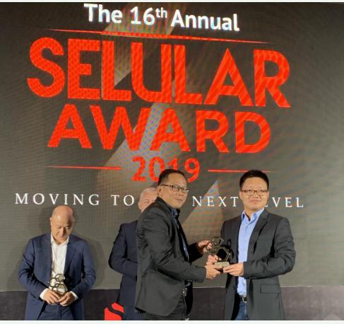 中兴通讯获得了Selular颁发的最佳5G解决方...