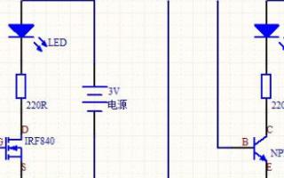 三极管和MOS管在模拟电路上的区别