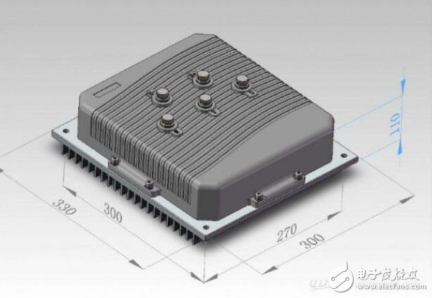 电机控制器结构组成