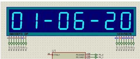 51单片机模拟实现普通电子表功能的设计