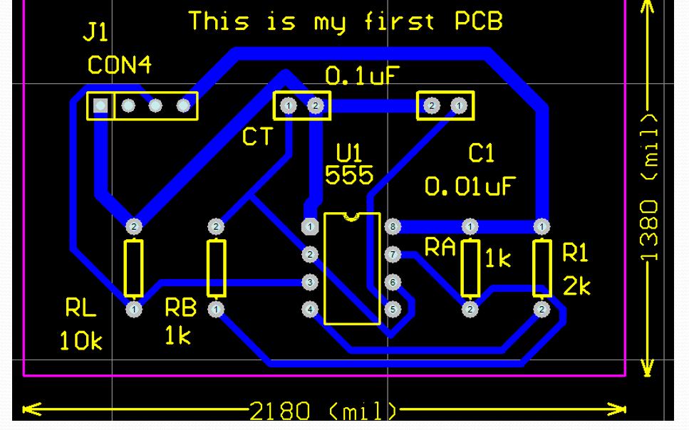 基于Altium Designer的PCB设计教程之创建元件封装和作业资料
