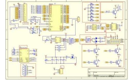 一块STM32单片机的主控板原理图和PCB图免费下载