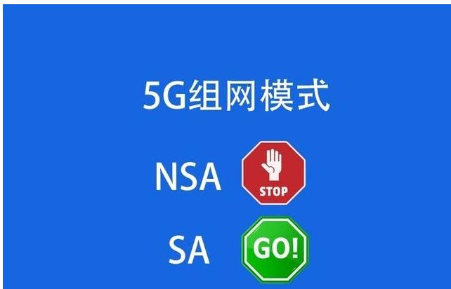 NSA和SA组网的差别在哪里