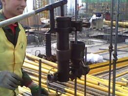 電渣壓力焊的操作和要求