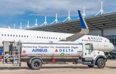 达美航空正式接收了第50架美国制造的A320系列...