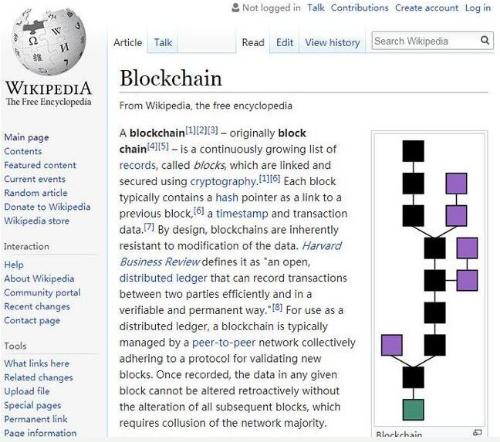 维基百科联合创始人希望借助区块链技术打造一个去中...