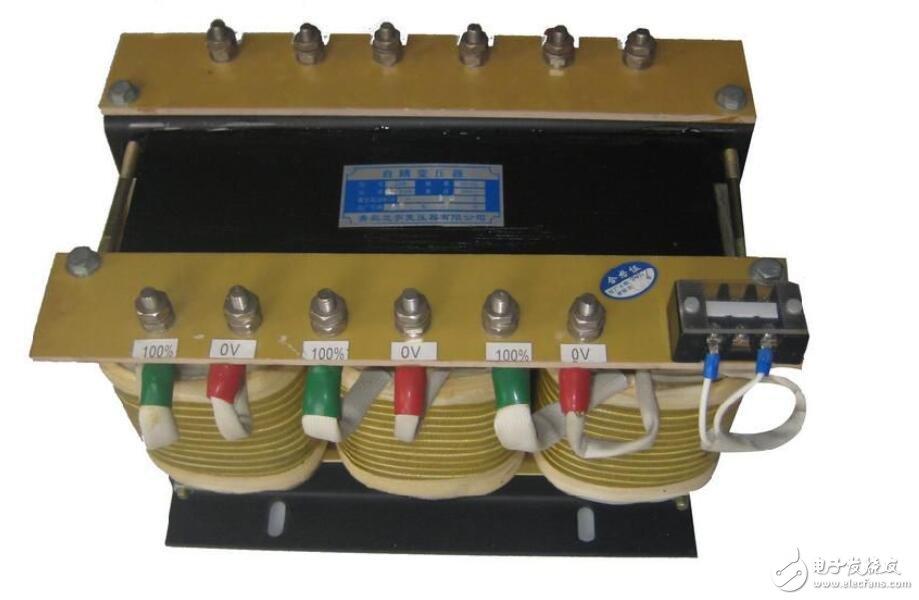 自耦变压器结构原理