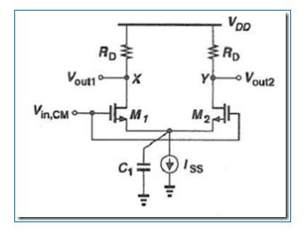 差分放大电路的CMRR与输入电阻分析