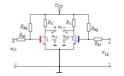 差分放大器的输入阻抗计算