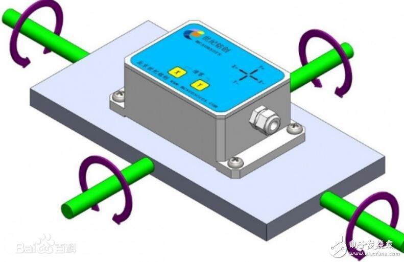 倾角传感器的工作原理_倾角传感器的应用