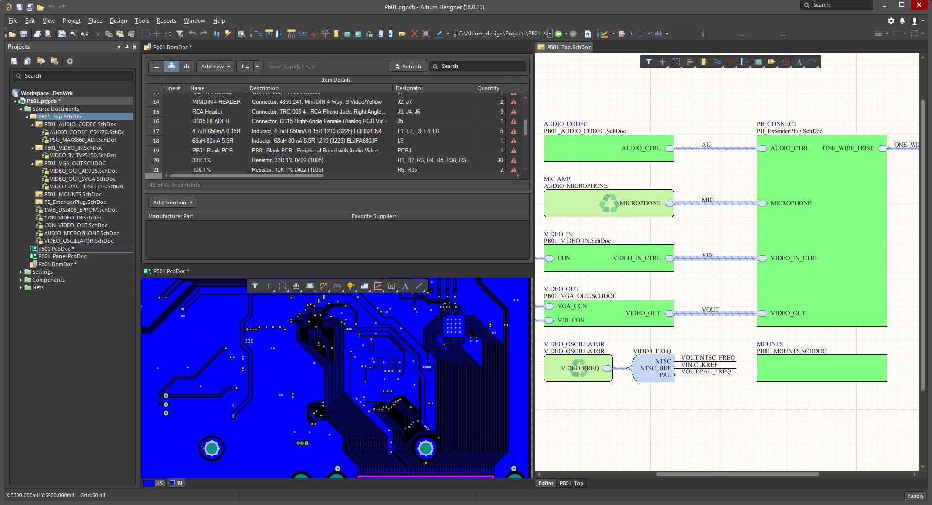 PCB设计工具中用户界面的易用性很重要