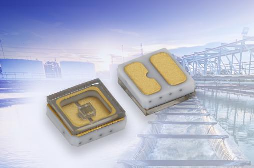 Vishay短波紫外线发光二极管小型表面贴器件 专为杀菌/消毒而设计
