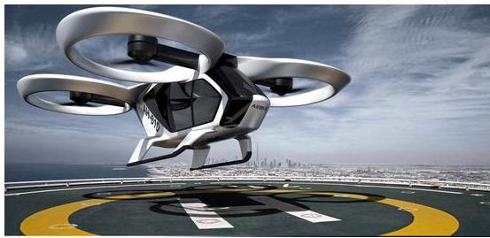 空中客车正在与巴黎大众运输公司合作研发一种垂直起降的飞行车辆