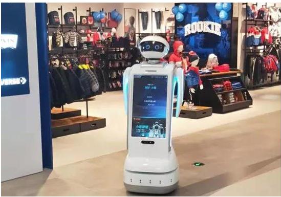 智能机器人在商场能做什么
