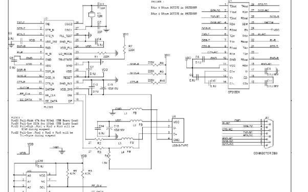 RS232转USB接口转换器PL2303的数据手册免费下载