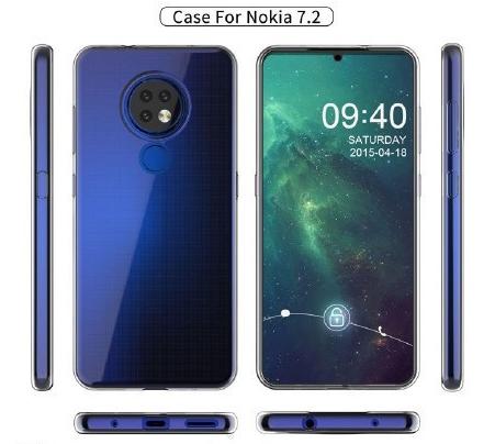 诺基亚7.2曝光搭载骁龙660处理器采用了后置奥利奥样式的三摄设计