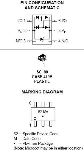 NUP2202 ESD /电涌保护器
