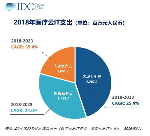 中国医疗云,2019厂商评估