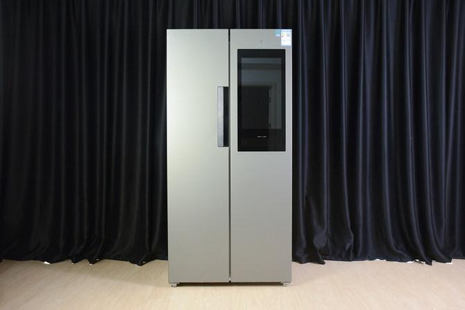 云米互联网冰箱21Face428L评测 更像是新...