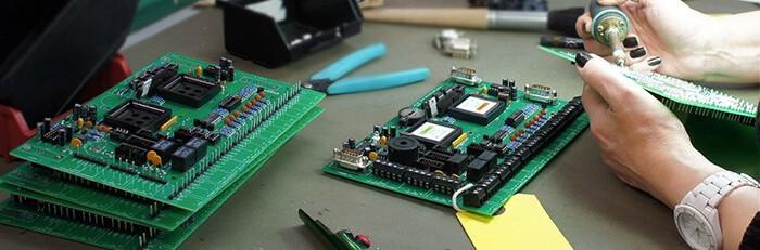 如何组装2层PCB