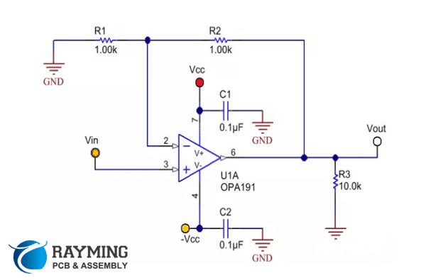 如何正确布置运算放大器的电路板
