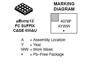 NLSX4378A 电平转换器 4位 24 Mbps 双电源