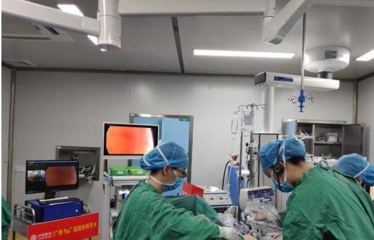 广西妇幼保健院利用5G网络技术成功实施了远程手术