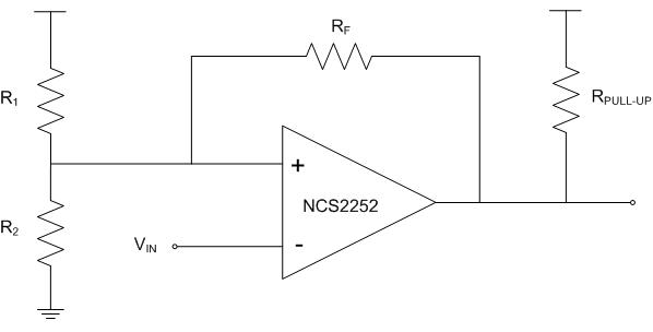 NCS2252 比较器 高速 50 ns 低电压 轨到轨 漏极开路